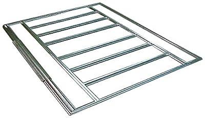 Arrow Sheds FB5465 Floor Frame Kit for 5'x4' & 6'x5' Arrow sheds,Silver
