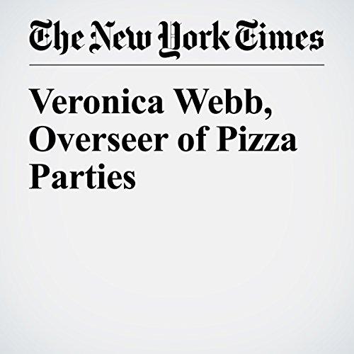 Veronica Webb, Overseer of Pizza Parties cover art