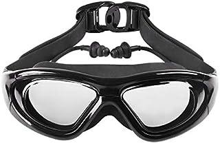 スイミングゴーグル スイム ゴーグル 水泳ゴーグル 水中メガネ くもり止め加工 UVカット 水漏れ防止 サイズ調節可 男女兼用