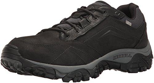 Merrell Moab Adventure Lace Waterproof, Chaussures de Randonnée Basses homme - Noir (Black), 45 EU (10.5 UK)