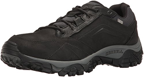 Merrell Shoes for Men Black Leather 10w