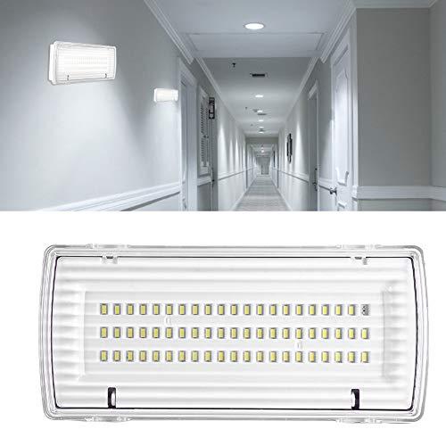 Ausla LED Notleuchte, Company Notleuchte/Notbeleuchtung, 62 LEDs Notbeleuchtung mit Eingebauter Wiederaufladbar 3.7V 2400mAh Lithium-Ionen-Akku, 8W, 6500 K