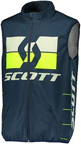 Scott Enduro Motorrad/Fahrrad Weste blau/gelb 2020: Größe: M (48/50)