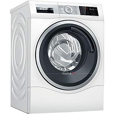 Bosch WDU28561GB Serie 6 Freestanding Washer Dryer with AutoDry & SpeedPerfect, 10kg/6kg load, 1400rpm spin - White
