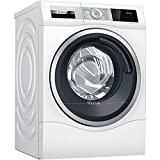 Image of Bosch WDU28561GB Serie 6 Freestanding Washer Dryer with AutoDry & SpeedPerfect, 10kg/6kg load, 1400rpm spin, White