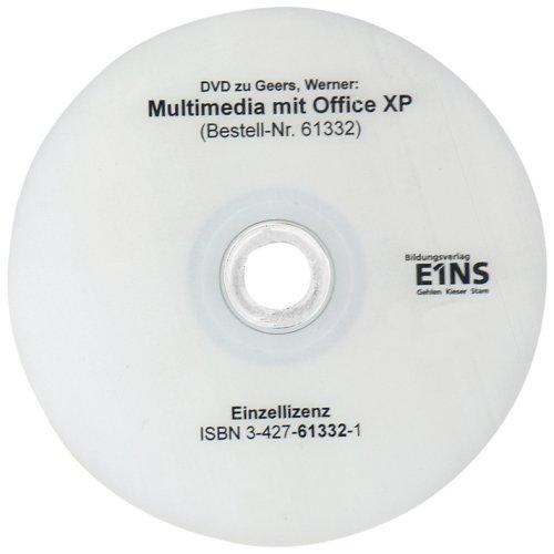 Multimedia mit Office XP, 1 DVD-ROM Einzelplatzlizenz