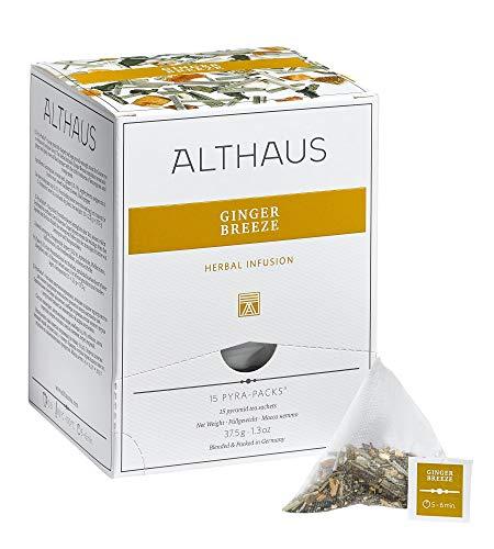 Althaus Pyra Pack Ginger Breeze 15 x 2,5g ⋅ Kräutertee im Pyramidenbeutel
