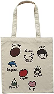 ZJSWIN Super Cute Wild Printing College Style Thin Shoulder Bag Student Bag Handbag Handbag Female (Color : White)