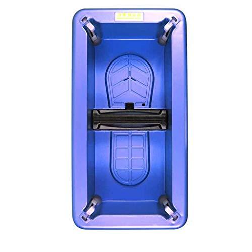 ZSQDSZ Dispensador automático de Cubiertas para Zapatos con Fundas Desechables de Fundas de PE Desechables de 100/200 pz. (Color : Azul)