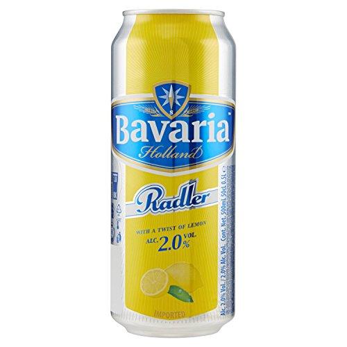 Bavaria - Radler Limone, Birra E Limonata, Alc. 2.0% - 500 Ml