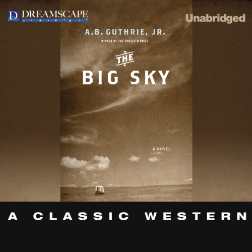 The Big Sky audiobook cover art