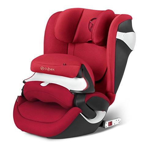 Cybex Juno M-Fix–Seggiolino per auto, gruppo 1, da 9kg fino a 18kg rosso