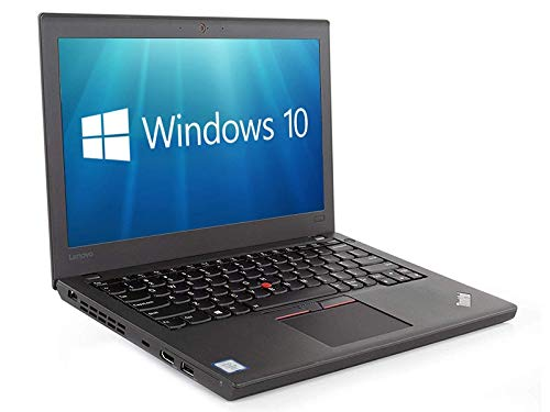 Lenovo ThinkPad X270 12.5' Ultrabook - Intel Core i5-6300U 2.4GHz 8GB 512GB SSD HDMI WiFi WebCam Windows 10 Pro 64-bit (Renewed)