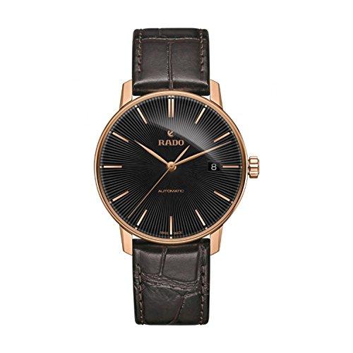 RADO COUPOLE Classic Herren 38MM AUTOMATIKWERK Braun Leder Armband Uhr R22861165