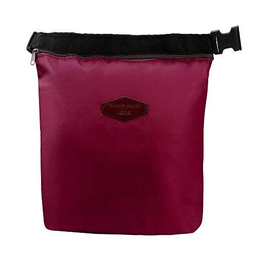 COLORFUL Leichte Kühltasche ,Lunch Tasche, Isoliertasche,Wasserdichte thermische isolierte Brotdose, tragbare Tote Storage Picknick-Taschen (WR)