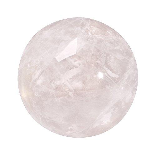 Quiges Austauschbare Mini Coin 12mm Wechselstein Pink Rose Quarz Stein für Ringe-Ohrringe-Anhänger-Armband Halter