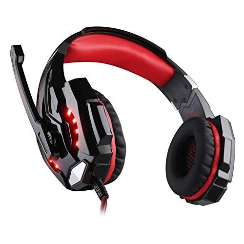 Wired Gaming-headset - oordopjes, koptelefoon, koptelefoon met draaibare ruisonderdrukking, voor PS4, Nintendo Switch, Xbox One, PC, laptop, Mac, smartphone
