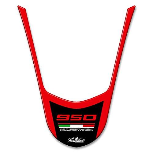 Adesivo In Resina 3d Compatibile Con Codino Ducati Multistrada 950