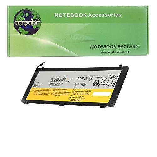 amsahr L12M4P61-02 Ersatz Batterie für Lenovo U330, U430, U430-Touch, U330p, U430p, U330-Touch, 21CP5/69/71-3, 7.4V, 6100 mAh/45 Wh, 4 Cell schwarz