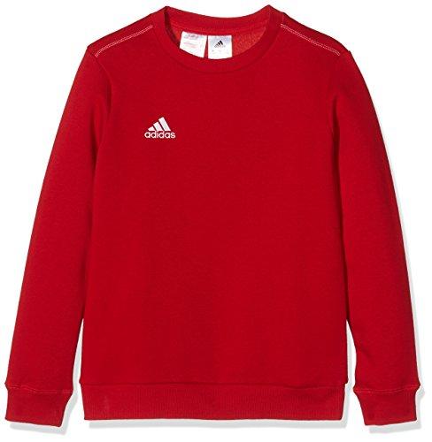 adidas Coref Swt To Y Sudadera, Niños, Rojo/Blanco, 140