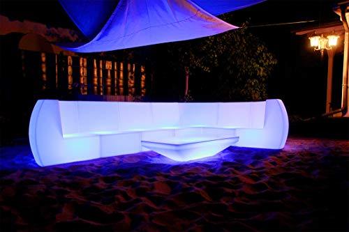 FURSTAR LED Lounge Leuchtmöbel SOFARIA Sofa, Couch, Loungesessel, Leuchtsitz