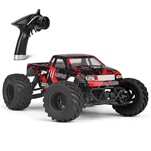 KELIWOW High Speed RC Cars for Adults 36KM/H 1/18 4WD Buggy Waterproof Off-Road Monster Trucks All Terrain Fast 2.4GHz Remote Control Car RTR with Rechargeable Battery