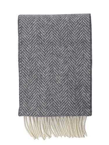 McLaughlin's Irish Shop John Hanly Irischer Schal aus Wolle und Kaschmir. Fischgrätmuster.