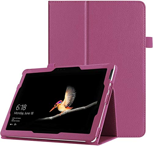 FANSONG Case for Microsoft Surface Pro 7 / Pro 6 / Pro 2017, Bifold Series Litchi Slim Magnetic Leather Flip Stand Smart Protective Cover Case for Surface Pro 5/4 / 3 12.3-Inch Windows Table