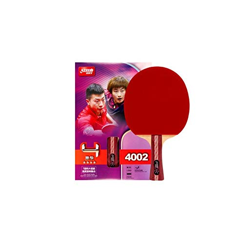 Affordable Haoyushangmao Table Tennis Racket, Horizontal Shot, Double-Sided Anti-Adhesive Arc Combin...