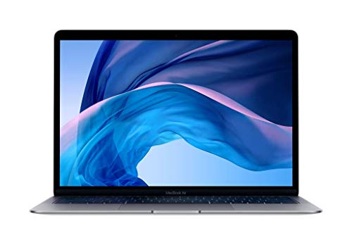 Apple MacBook Air (13-inch Retina display, 1.6GHz dual-core Intel Core i5, 128GB) - Space Gray (Renewed)