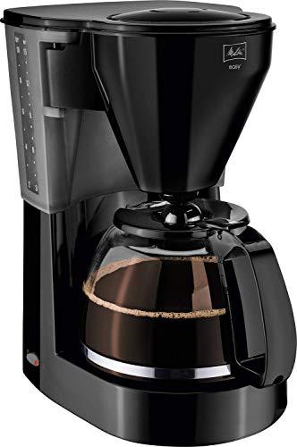 Melitta Easy 1010-02, Filterkaffeemaschine mit Glaskanne, Kompaktes Design, Schwarz
