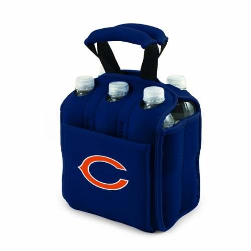 NFL Chicago Bears Six Pack Cooler Tote