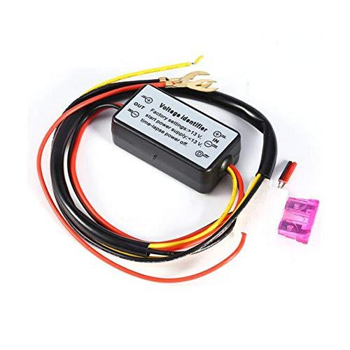 rebirthesame Automatische LED-Steuerung丨DRL-Controller丨Tagfahrlichtlampe DRL丨automatischer Ein-/Ausschaltregler丨12V-18VModul für automatisches Autozubehör丨Relaiskabelbaum丨Fahrlichtsteuerung