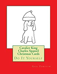 Cavalier King Charles Spaniel Christmas Cards [Gail Forsyth/Amazon]