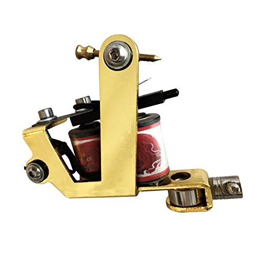 Premium Copper Wire Coils Tattoo Machine Liner & Shader, Gold...
