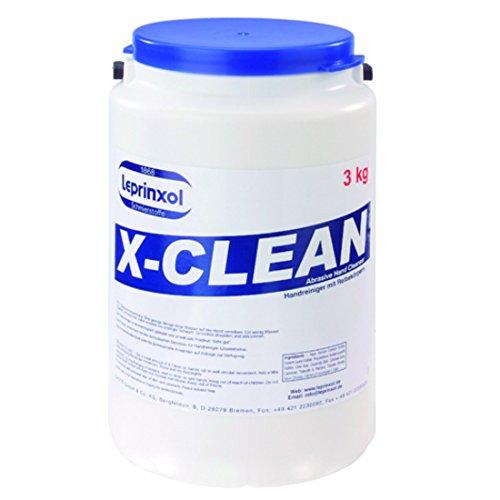 X-Clean 3kg dermatologisch geprüfte und getestete Handwaschpaste. PH-Neutrale Schmierseife im 3 Liter Eimer. Ein Universalreiniger mit waschaktiven Subtanzen.