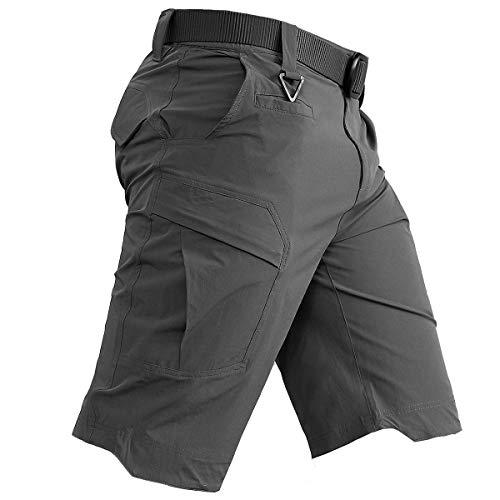 Carwornic Men's Quick Dry Tactical Shorts   Amazon