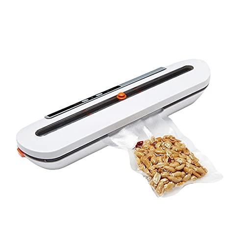 Vakuumiergerät,Automatisch Lebensmittel Vakuumierer, optimal für Lebensmittelaufbewahrung.10 stücke Vakuum Taschen für Freies…