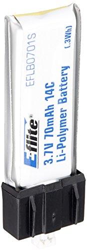 Horizon Hobby EFLB0701S - 70mAh 1S 3.7V 14C Lipo Batter