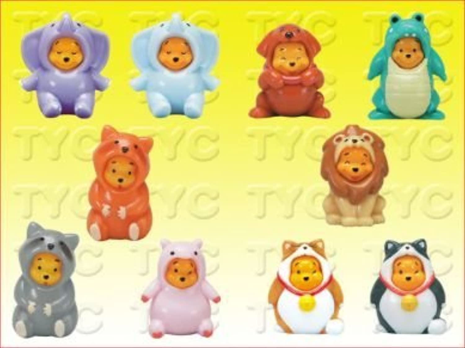 Peek-a-pooh Figure Collection 2 Returns by Disney