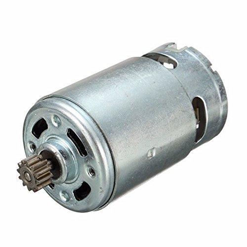 EsportsMJJ 7.2/12/14.4/18V 12 Dientes Motor De Engranaje Eléctrico para Bosch-12V