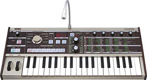 Korg Microkorg - Sintetizzatore con vocodo, 37 tasti, colore: Argento ocra