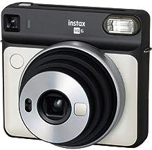 كاميرا فوجي فيلم Instax SQUARE SQ6 الفورية (أبيض لؤلؤي)