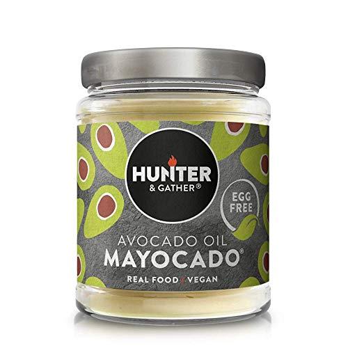 Hunter & Gather Maionese Vegana con Olio di Avocado, Senza Uova, Zucchero e Glutine, Paleo e Chetogenica - 175g