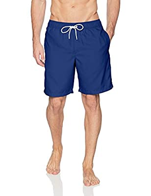 "Amazon Essentials Men's Quick-Dry 9"" Swim Trunk, Navy, XX-Large"