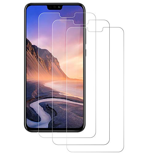 PUUDUU Protector de Pantalla para Huawei Honor 8X, [3 Pack] Cristal Templado para Huawei Honor 8X, Vidrio Templado, Dureza 9H, Anti-Rasguños, Sin Burbujas