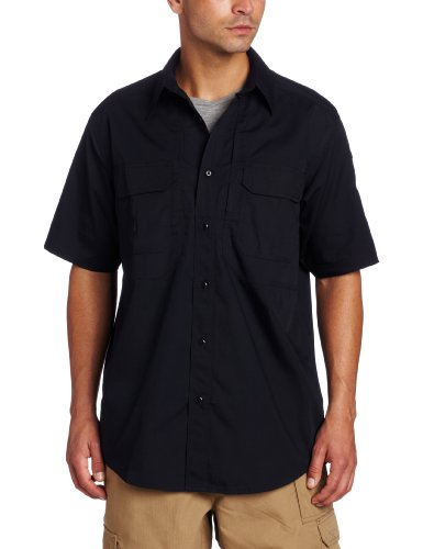 5.11 Tactical Series Taclite Pro Shirt Short Sleeve Chemise Homme, Dark Navy, FR (Taille Fabricant : 3XL)