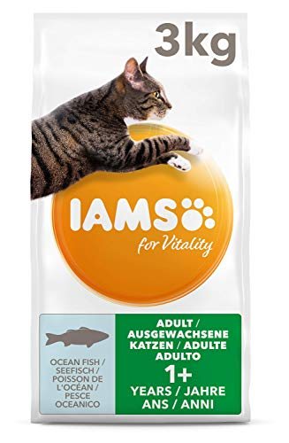IAMS for Vitality Adult Katzenfutter trocken mit Seefisch 3kg