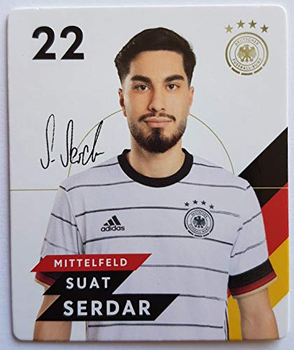 Rewe EM 2020 DFB - Sammelkarten - Normale - Nr. 22 - SUAT Serdar - Plus 1 spezielle toysagent Sonderkarte