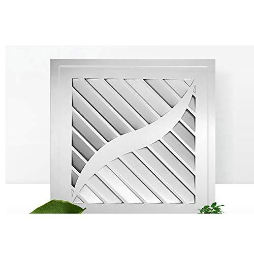 LANDUA Stille Lüftung Starker Abluftventilator für Fensterwand Bad Toilette Küche Wandventilator